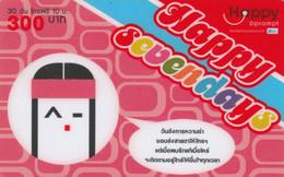 PREPAID PHONE CARD THAINLANDIA (PY2739 - Tailandia