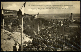 Cpa  ND De Lorette Cérémonie Du 12 Septembre 1920,  Animée - Francia