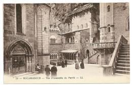 46 - Rocamadour - Vue D'ensemble Du Parvis - Beaugency