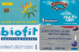 4 CARTE FUNZIONALI  (PY2893 - Other Collections