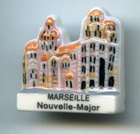 FEVES - FEVE - CATHEDRALE - MARSEILLE - NOUVELLE-MAJOR - SERIE CATHEDRALES DE FRANCE  2006 - Région