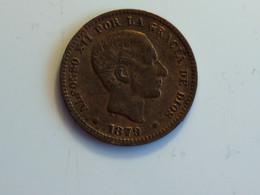Espagne Cinco Centimos 1879 - Provincial Currencies