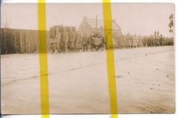 62 PAS DE CALAIS SALLAUMINES Canton AVION ENTERREMENT CARTE PHOTO ALLEMANDE MILITARIA 1914/1918 WK1 WW1 - Francia