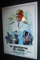 Carte Postale : Louis De Funes - Le Gendarme Se Marie (affiche Film Cinéma) - Manifesti Su Carta