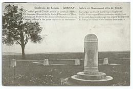 62 - Environs De Liévin - Grenay - Arbre Et Monuments Dits De Condé - Francia