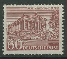 Berlin 1949 Berliner Bauten 54 Postfrisch, Zahnfehler (R19209) - Ungebraucht