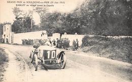 CPA GRAND PRIX DE BOULOGNE SUR MER (25 Juin 1911) BABLOT Au Virage Avant La Capelle - Boulogne Sur Mer