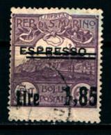 20861) SAN MARINO-1,85 L. Su 60 C. •Veduta Di San Marino, Soprastampato Espresso - ESPRESSI - 25 Novembre 1926- USATO - Unused Stamps