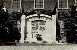 Carte Photo Failon  Monument Aux Morts  Guerre 1914/18  1940/45 - Havelange