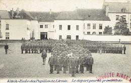 Aalst Alost Ecole Des Pupilles De L'armée 1902 Beau Plan Militaires 1902 - Aalst