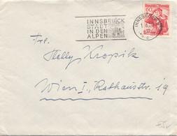 ÖSTERREICH 1950 - 60 Gro Auf Brief (ohne Inhalt) - 1945-60 Cartas