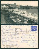 OF [ 7258 ] - FRANCE - BIARRITZ - LA GRAND PLAGE VERS LE CASINO BELLEVUE - France