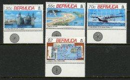"-Bermuda-1991- ""World War II"" Mint,N.H.(**) Set Of 4 - Bermudas"