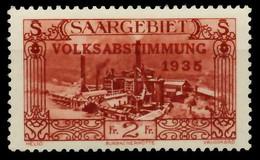 SAARGEBIET 1934 Nr 191 Postfrisch X794EE2 - Unused Stamps