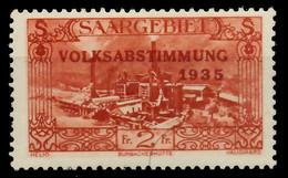 SAARGEBIET 1934 Nr 191 Ungebraucht X794F1E - Unused Stamps
