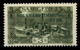 SAARGEBIET 1934 Nr 192 Ungebraucht X794F26 - Unused Stamps