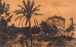 TAORMINA SICILIA ITALY~PALAZZO DUCE S STEFANO~SEPIA PHOTO POSTCARD 49144 - Altre Città