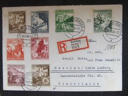 BRIEF Zwickau I.Sa. - Heerlen 1938 //  D*45993 - Deutschland