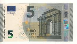 """5 EURO  """"France""""   DRAGHI   U 006 F4    UD5133711348 /  FDS - UNC - EURO"""