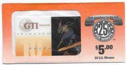 GTI  U.S.A.,Painting, BO STERK, $5 Prepaid Phone Card, PROBABLY SAMPLE, # Gtibosterk-1 - Malerei