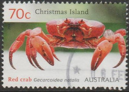 CHRISTMAS ISLAND - USED 2014 70c Red Crab Migration - Christmas Island