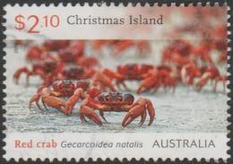CHRISTMAS ISLAND - USED 2014 $2.10 Red Crab Migration - Christmas Island