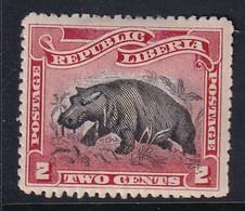 Liberia 1905 Sc 59 Mint Hinged - Liberia