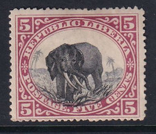 Liberia 1897 Sc 63 Mint Hinged - Liberia