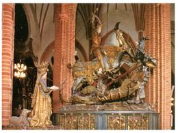 (Q 1) Sweden - Stockholm Cathedral Statue Storkyrkan - Suecia