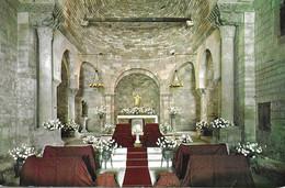 Bañolas. Interior De La Iglesia Parroquial De Porqueras. - Gerona