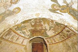 Roda De Isabena. Catedral Romanica. Detalle Pinturas Sala Capitular Maestro Tahuli. - Huesca