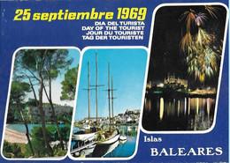 Islas Baleares 1969 Dia Del Turista. - España