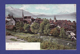ZUG (UNE MICRO ET LEGERE CORNURE SINON TTB état ) BD 1267 - ZG Zug