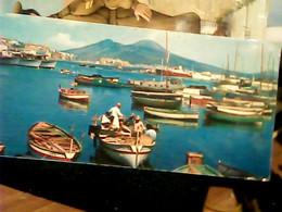 NAPOLI MARGELLINA  BARCA E VEDUTA  MIGNON VB1961  HR10886 - Napoli (Naples)