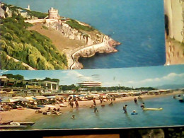 2 CARD S SAN FELICE CIRCEO  VEDUTA TORRE E SPIAGGIA  MIGNON VB1961  HR10887 - Latina