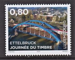 5.- LUXEMBOURG 2020 STAMP DAY - BRIDGES - Ponti
