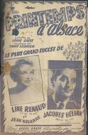 """""""Printemps D'Alsace"""" - Line Renaud - Jacques Hélian - Paroles De Louis Gasté - Musique De Louis Ledrich - Music & Instruments"""