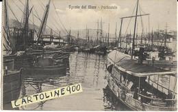 Liguria-la Spezia-spezia Dal Mare Porticciolo Veduta Barche Velieri Battelli Animatissima Primi 900 (f.piccolo) - La Spezia