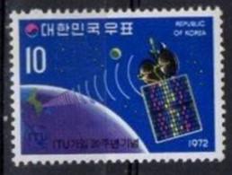 Korea, South 1972. Space. ITU. MNH - Corée Du Sud