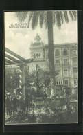 Postal Alicante, Jardin De Isabel II. - Alicante