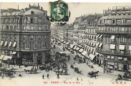 PARIS  Rue De La Paix  Recto Verso - Arrondissement: 01