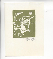 Ex Libris.75mmx105mm. - Ex Libris