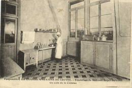 Pouponnière Des  GRANDS MAGASINS DU LOUVRE  Fondation De Madame Roger DOUINE Un Coin De La Cuisine  RV Affra Nmecanique - Arrondissement: 01