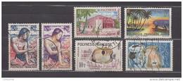 Lot De 12 Timbres POLYNESIE FRANCISE Oblitérés ( T1) - Polinesia Francese