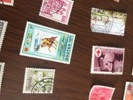 BHUTAN LA POSTA  1 VALORE - Postzegels