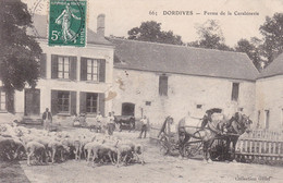 Cpa Dept 45 - Dordives -  Ferme De La Carabinerie  (voir Scan Recto-verso) - Dordives