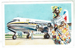 UAT Aéromaritime - Carte Postale - Circulée 1956 - Stationery