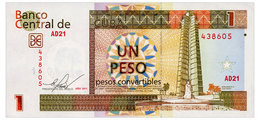 CUBA 1 PESO 2011 Pick FX46c Unc - Cuba