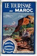 """Guide Touristique """"Le Tourisme Au Maroc, Kenitra, Mehedya, Ouezzan, Le Gharb"""" 1931 - 64 Pages - 13.5 X 21 Cm - Otros"""
