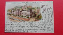 Gruss Aus Karlsbad.Kurhaus Und Konigsvilla.KARLOVY VARY - Tschechische Republik